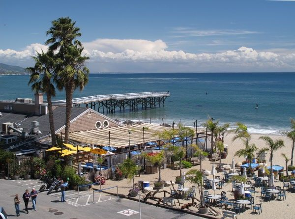 Paradise Cove Beach Cafe Malibu Los Angeles California Was Just Here With A Friend Few Days Ago And It So Much Fun Good Food