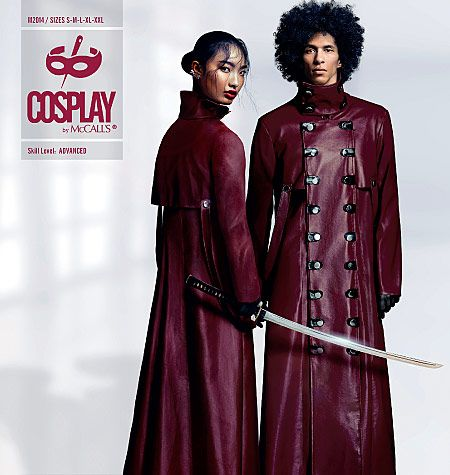 Cosplay sewing patterns and historical costume sewing patterns. Make ...