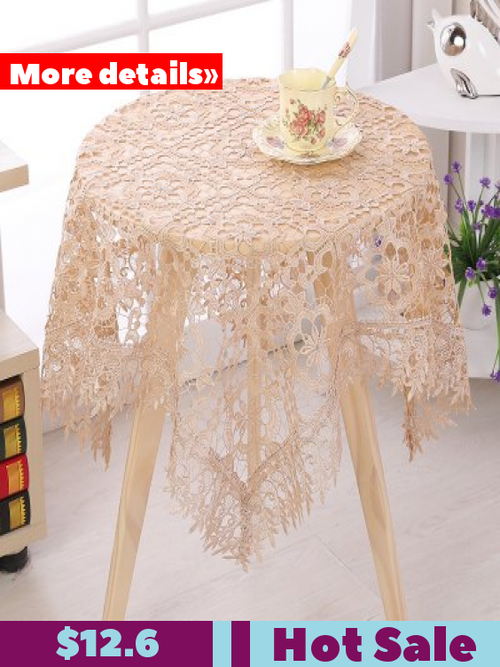 European Lace Table Cloth Coffee Mat Waterproof Oil Proof Anti Scalding Disposable