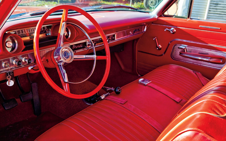1963 Chevy Impala Ss Convertible İnterior Carmen