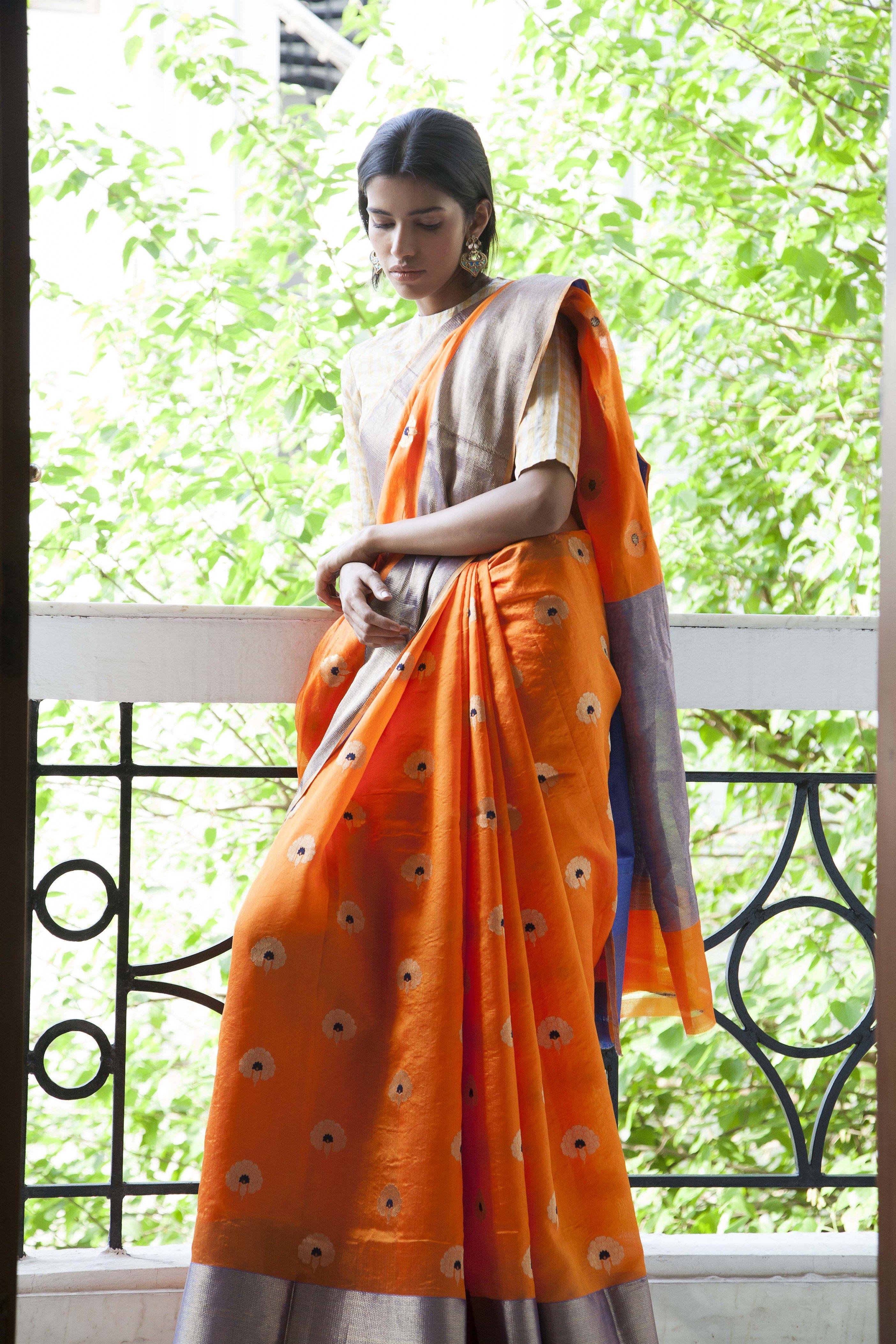 8320f0f1f9 raw mango saris ogaan online clothinh | Silks | Indian silk sarees ...