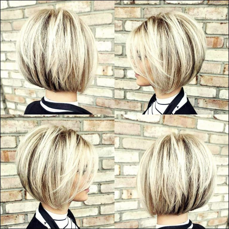 21 Schone Und Kurze Frisuren Fur Den Sommer 2019 2020 Trend Bob Frisuren 2019 Blondeku In 2020 Choppy Bob Hairstyles Wavy Bob Hairstyles Short Stacked Bob Haircuts