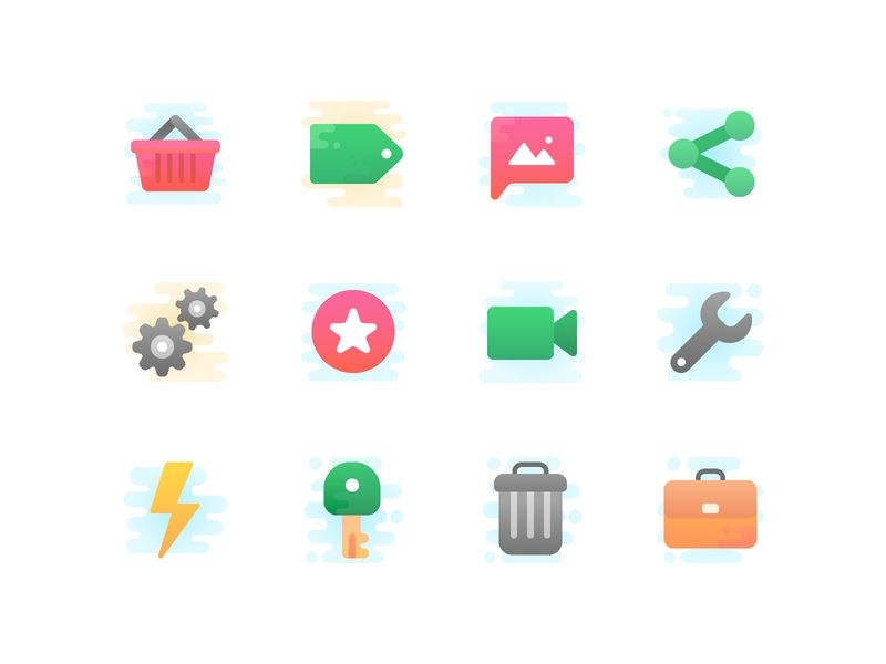 Icon Design 30 Catchy Icon Packs In Different Design Styles Icons Graphicdesign Design Illustration Clipart Uid Business Icon Icon Web Design Projects