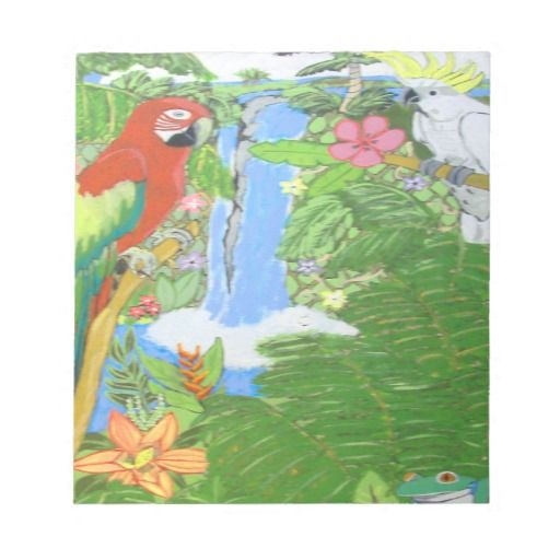 Tropical Paradise Note Pad