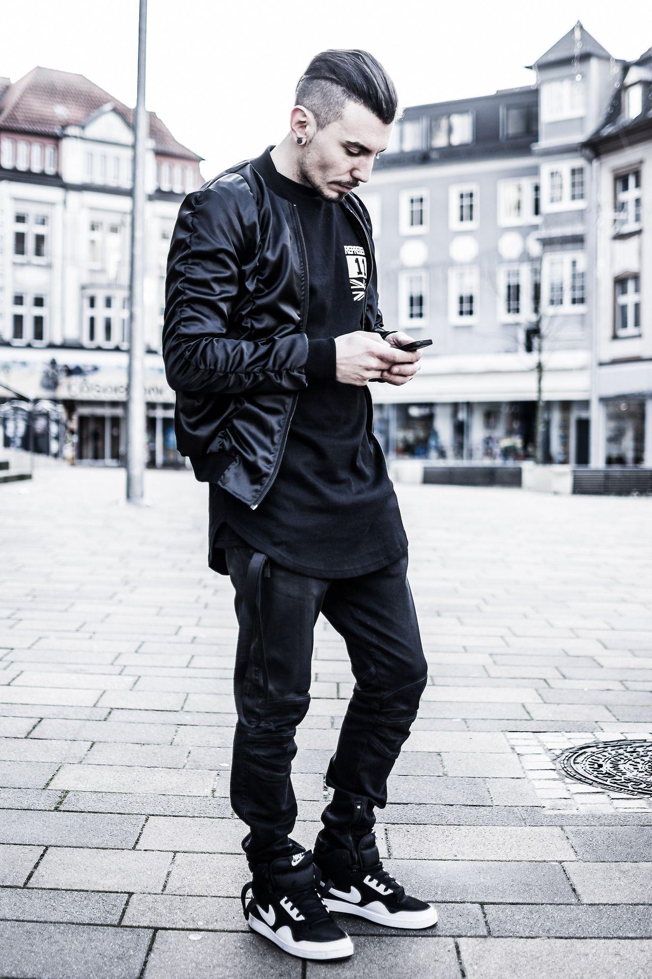 470ce2ce554 All Black Everything | Fashion | Sko, Swag, Tøj