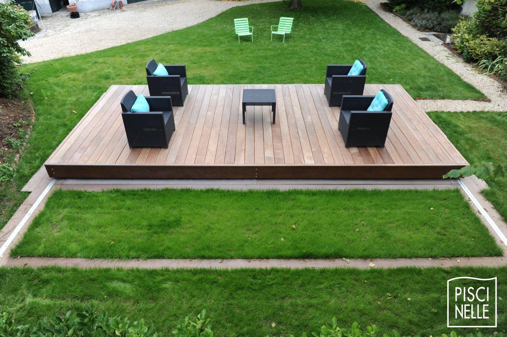 Prix Piscine Aquilus Mini Water terrasse piscine mobile : le rolling-deck piscinelle