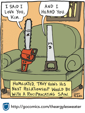 The Argyle Sweater By Scott Hilburn For February 14 2012