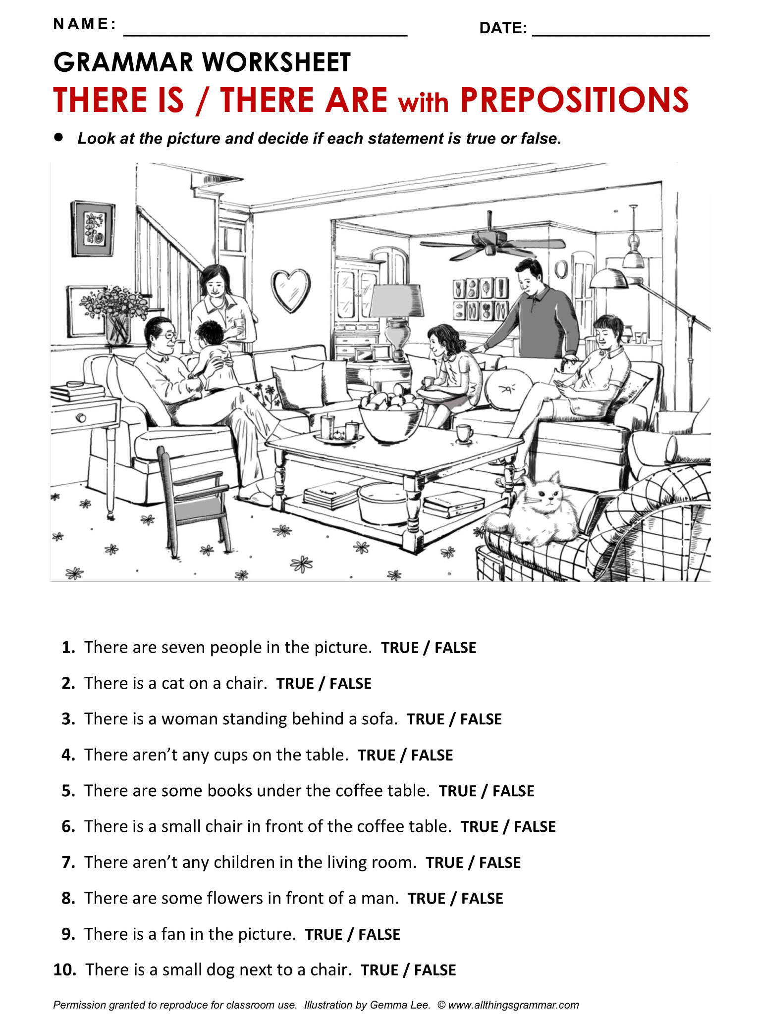 english grammar worksheet there is there are. Black Bedroom Furniture Sets. Home Design Ideas