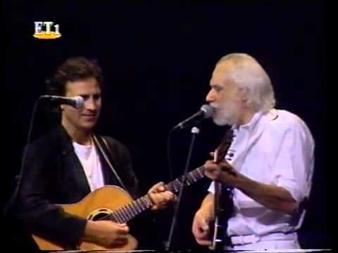 Georges Moustaki & Dalaras - Le métèque - Lyrics in France & Greek - YouTube