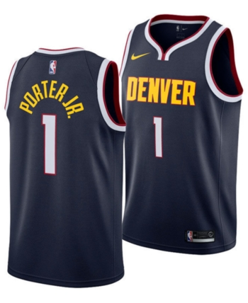 premium selection 23e53 73437 Nike Michael Porter Jr. Denver Nuggets Icon Swingman Jersey ...