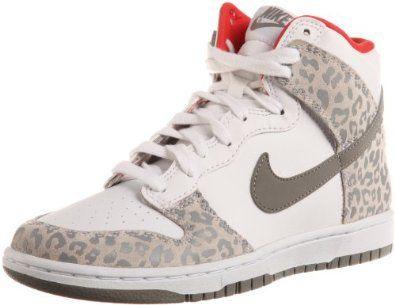 wholesale dealer 72674 70916 Amazon.com  Nike Wmns Dunk High Skinny Leopard - White Medium Grey  (429984-102)  Shoes