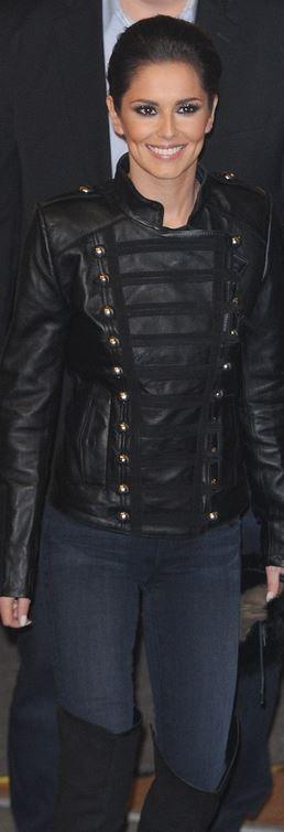 , Cheryl Cole's leather jacket, My Pop Star Kda Blog, My Pop Star Kda Blog