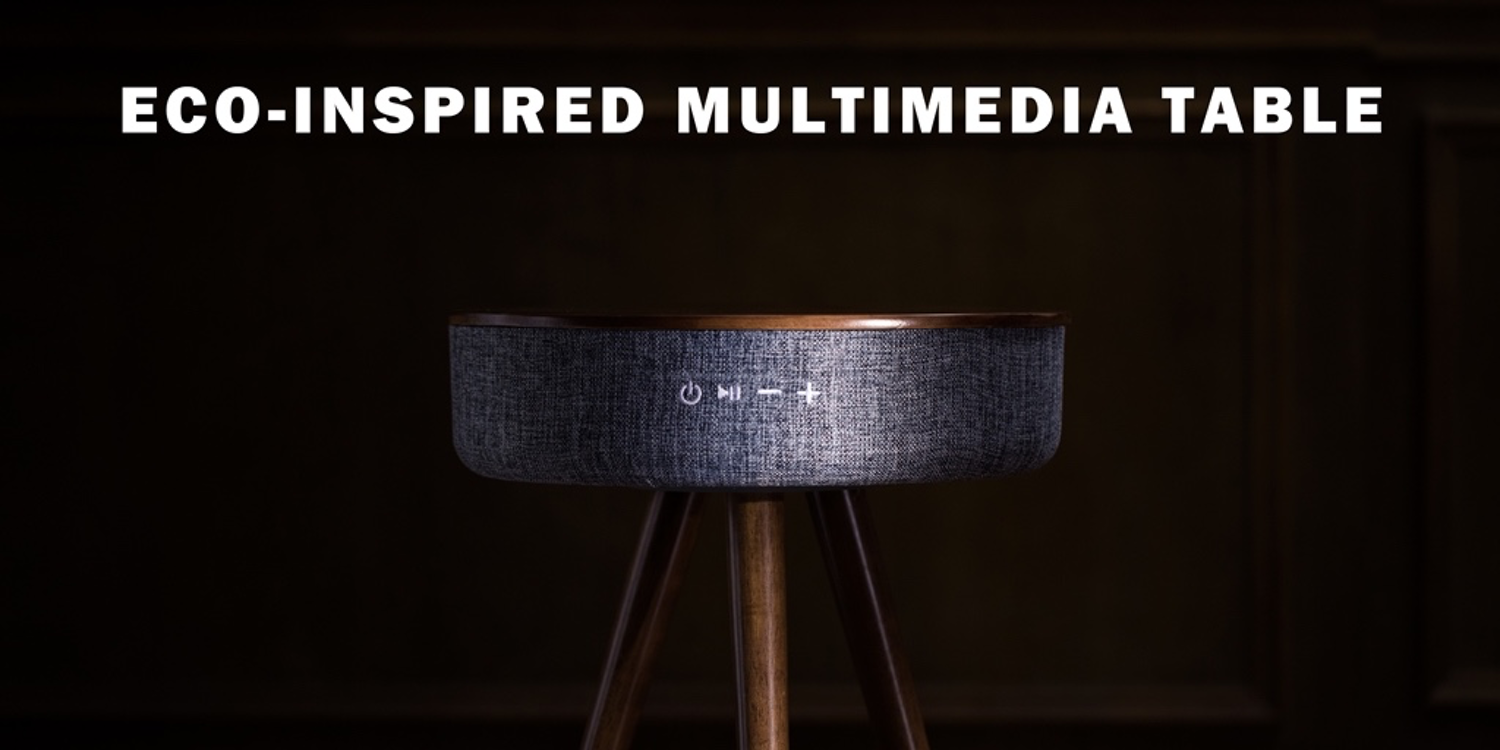 Mellow multimedia table delights with fresh design and