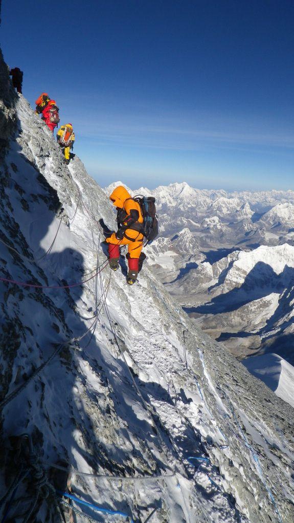 Second step Everest