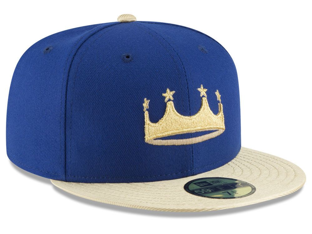 Kansas City Royals New Era 2018 MLB Turn Ahead The Clock 59FIFTY Cap ... d02c9e0254b7