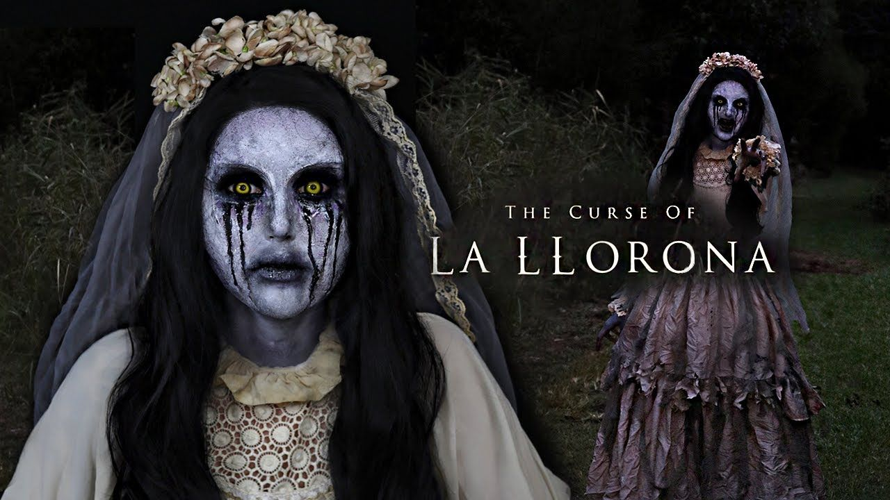 LA LLORONA MAKEUP La llorona, Halloween makeup scary