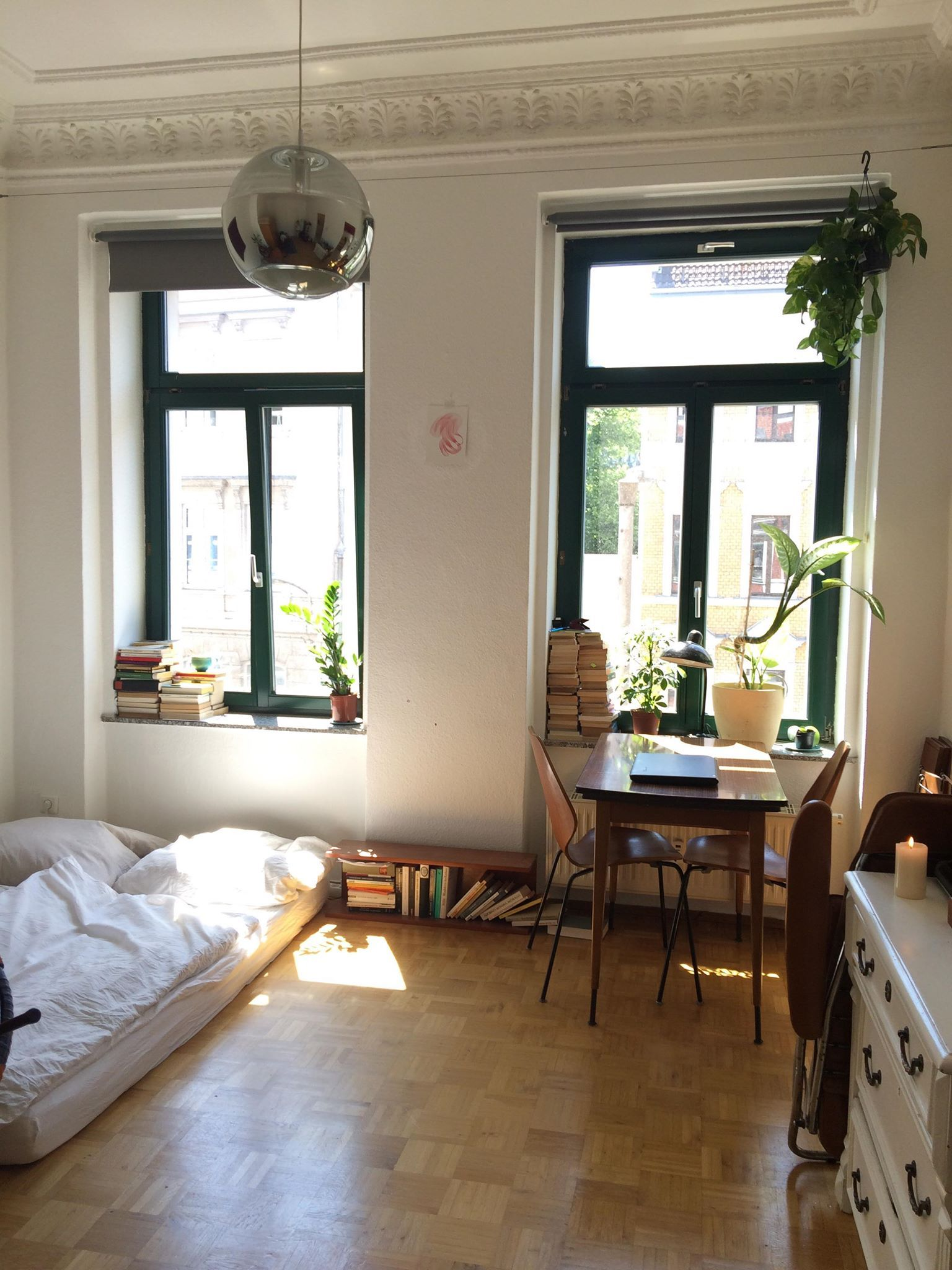 my mini apartment - just moved in (Leipzig, Germany)