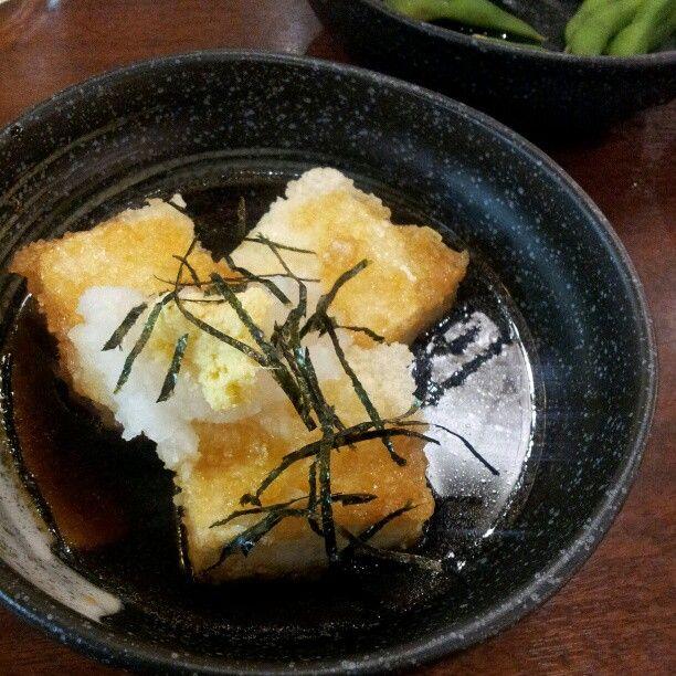 Agedashi Tofu FTW. #Japan #fukuoka