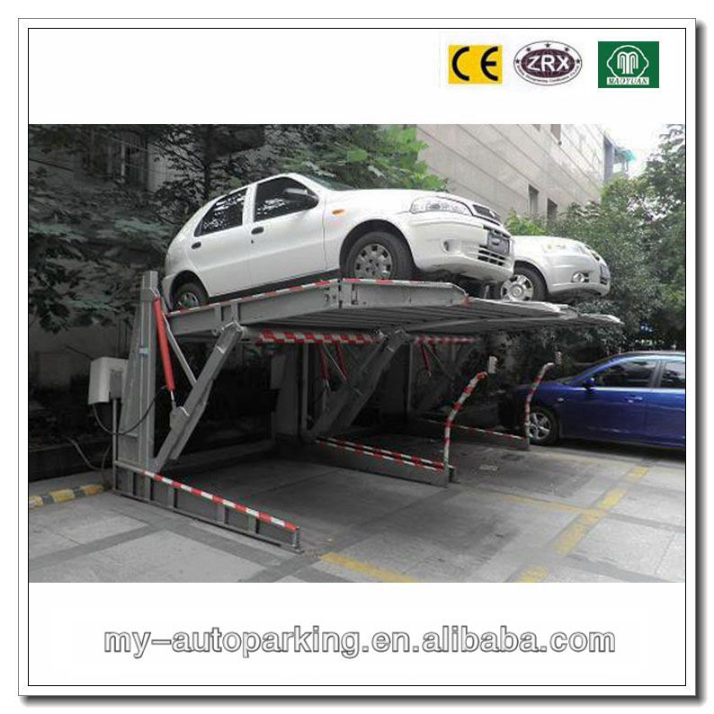 2 Post Tilting Parking System United and Easy for Operation Mode - operation manual