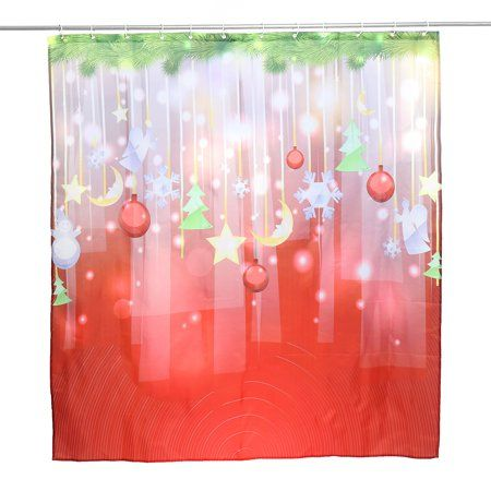 Home Christmas Shower Curtains Festival Party Bts Season Greeting