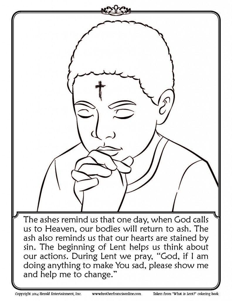 Impressive Design Lent Coloring Pages Printable Best Of Ash