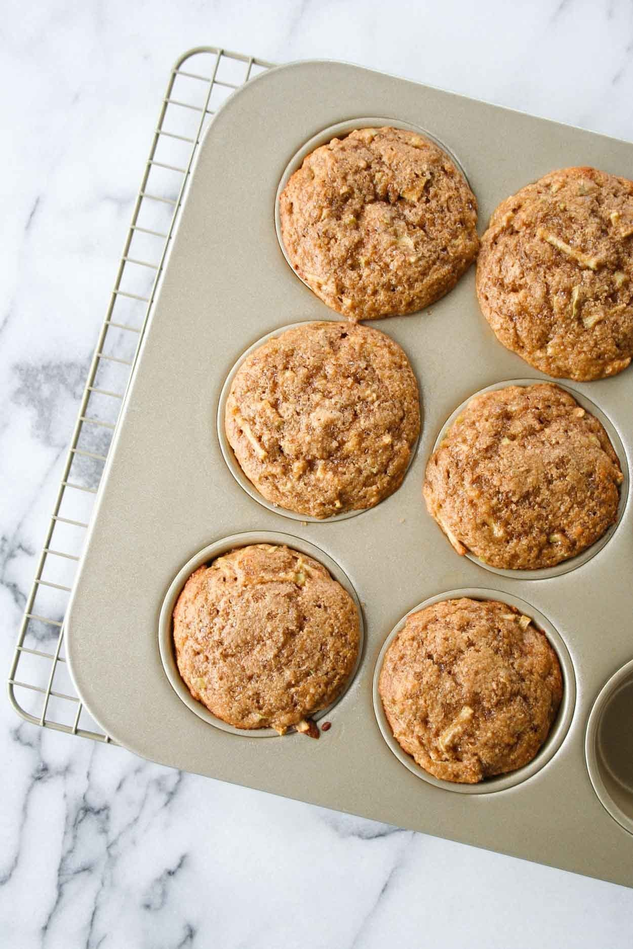 Apple Cinnamon Protein Muffins Recipe Protein Muffins Apple Recipes Kodiak Cakes