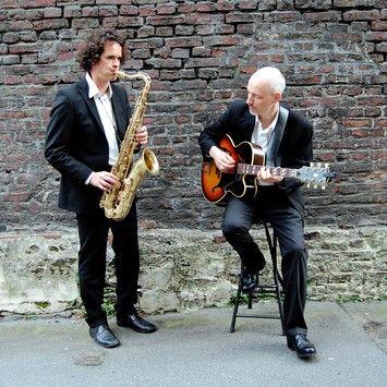 Scheipner Biether Duo Das Eingespielte Akustik Duo Spielt Leidenschaftlich Jazz Blues Rock Pop Soul Reggae Folk Und Klezmer Vom Empfang B Sax Kirch
