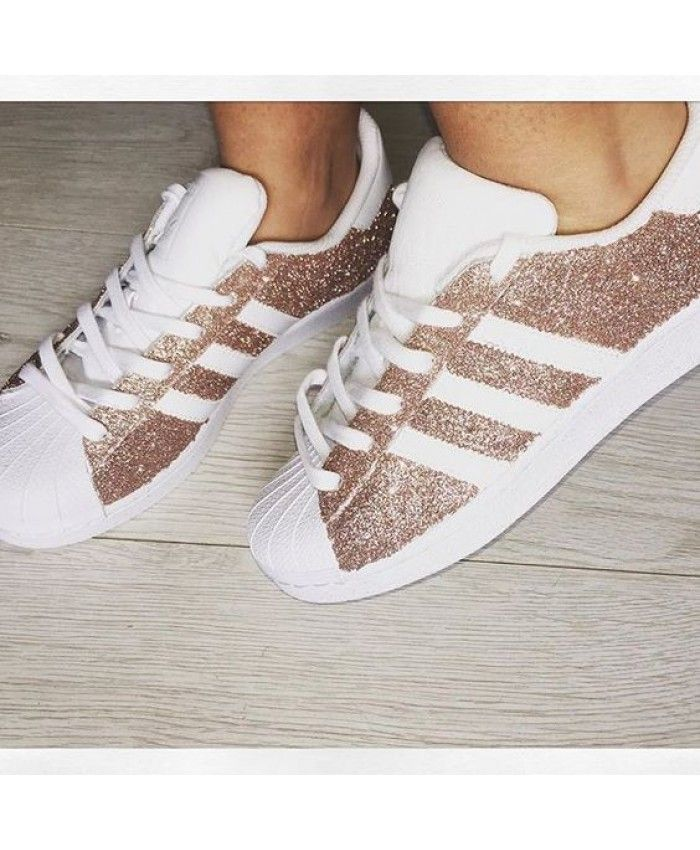 adidas superstar glitter womens