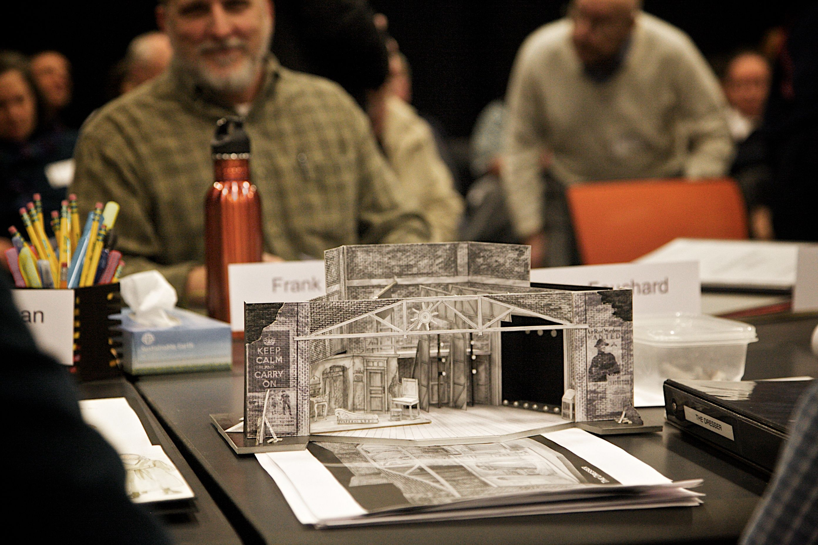 Set Design For Everyman Theatre S Production Of The Dresser By Ronald Harwood Scenic