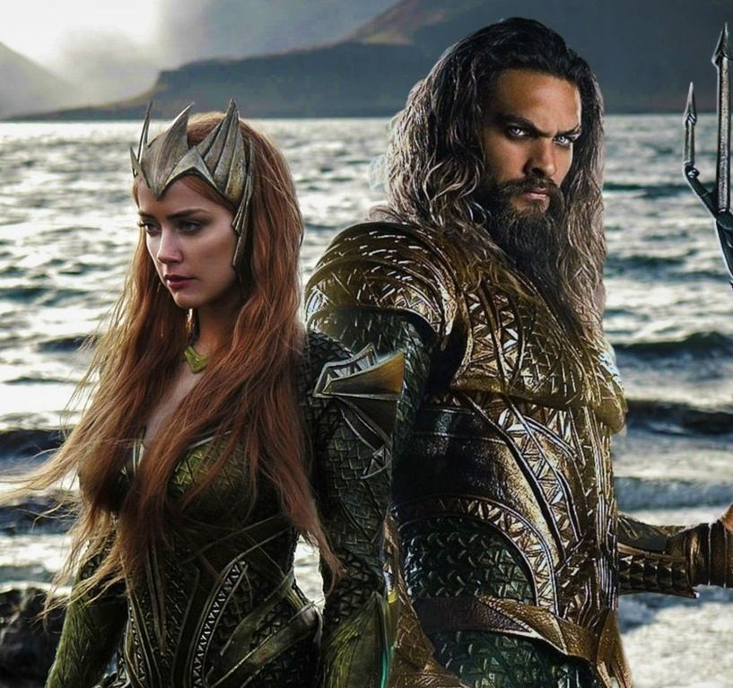 Amber Heard And Jason Momoa Photos Photos: New JUSTICE LEAGUE Image Provides Our First Official Look