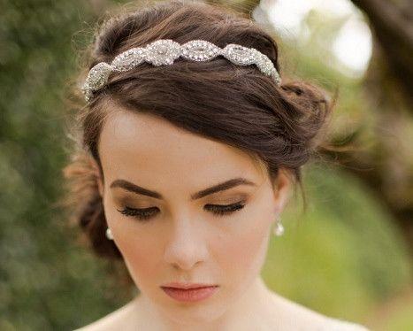 89ae6f4bb1528 Classic Appliqué Rhinestone Headband, Marissa | The Wedding Hair Accessory  and Bridal Jewellery Experts. Jules Bridal Jewellery