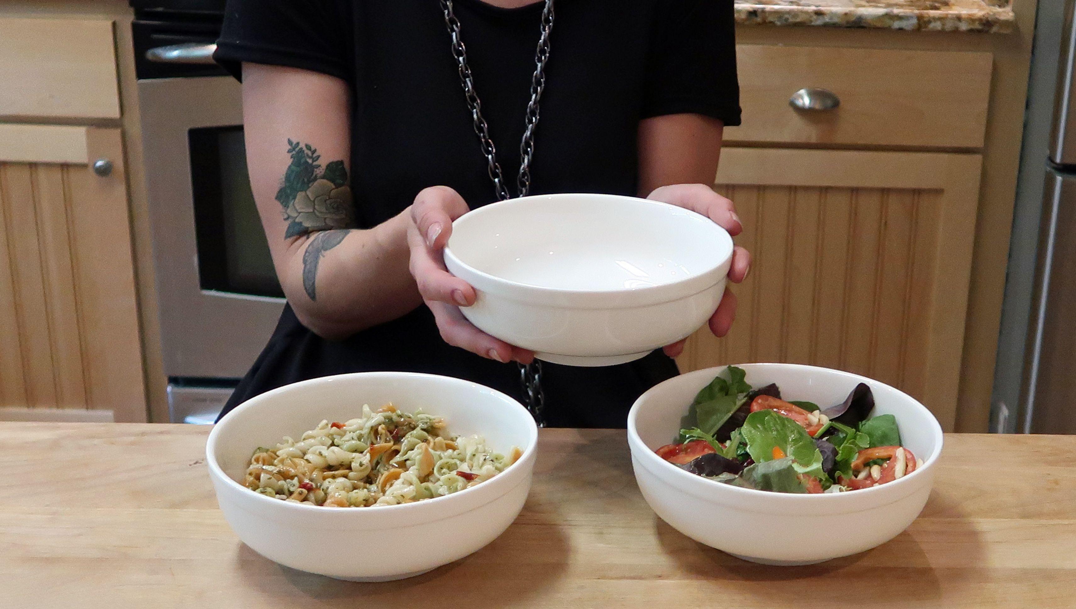 3-Pack Super Soup Bowls-32 Ounce White Fine Porcelain