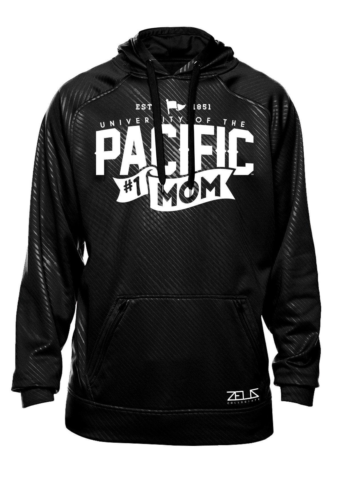 Pacific #1 Mom Poly Fleece Hood