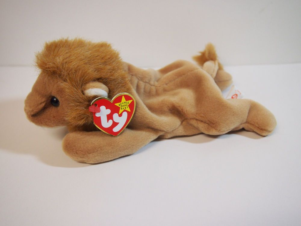 6db0e0e3d7b  Roary  the Lion - Ty Beanie Baby NEW OLD STOCK RETIRED RORY ROREY  Ty