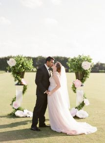 Modern Glam Wedding Inspiration   Photos