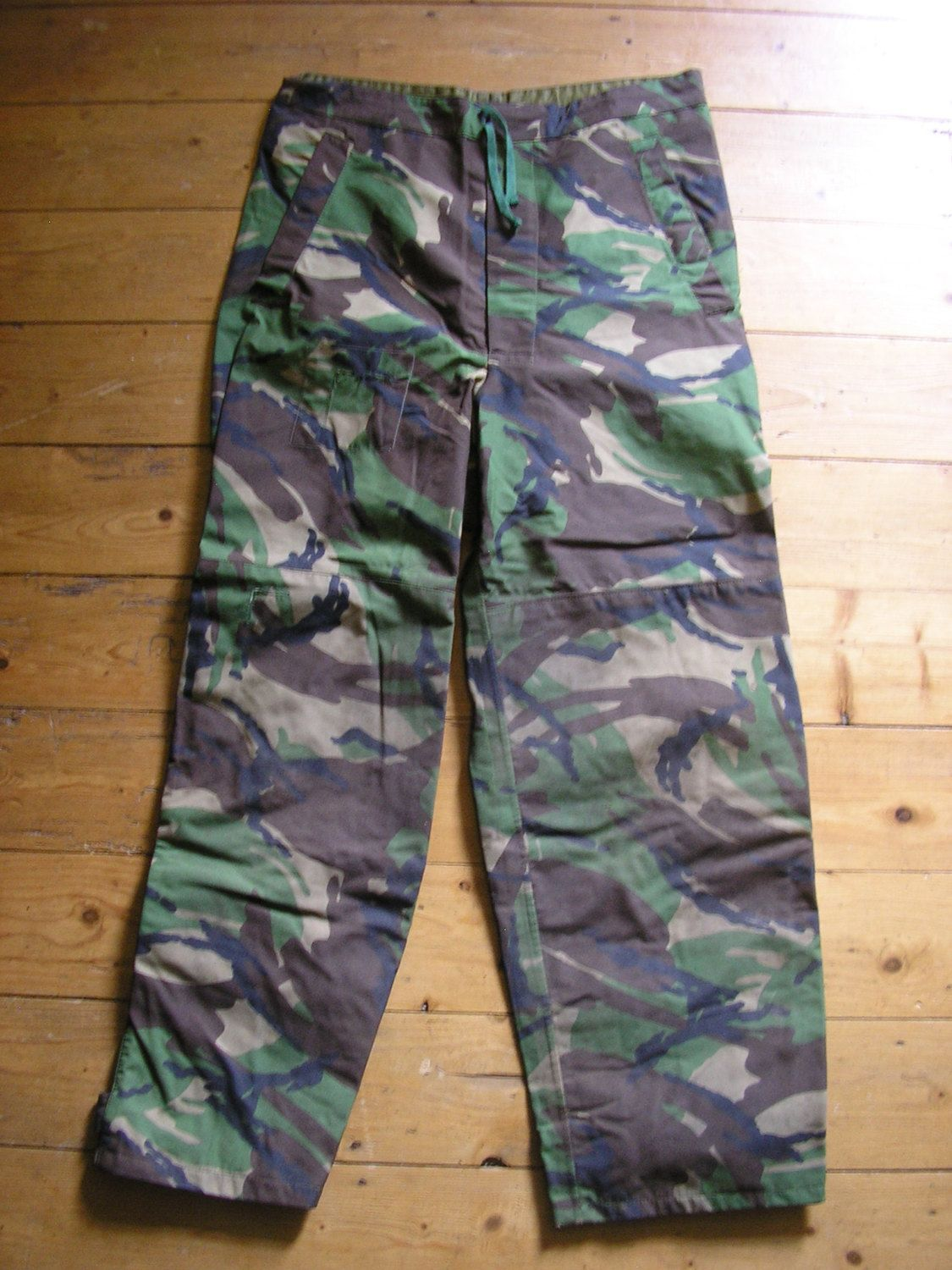 Vintage British Army Water proof Nato camouflage DPM combat