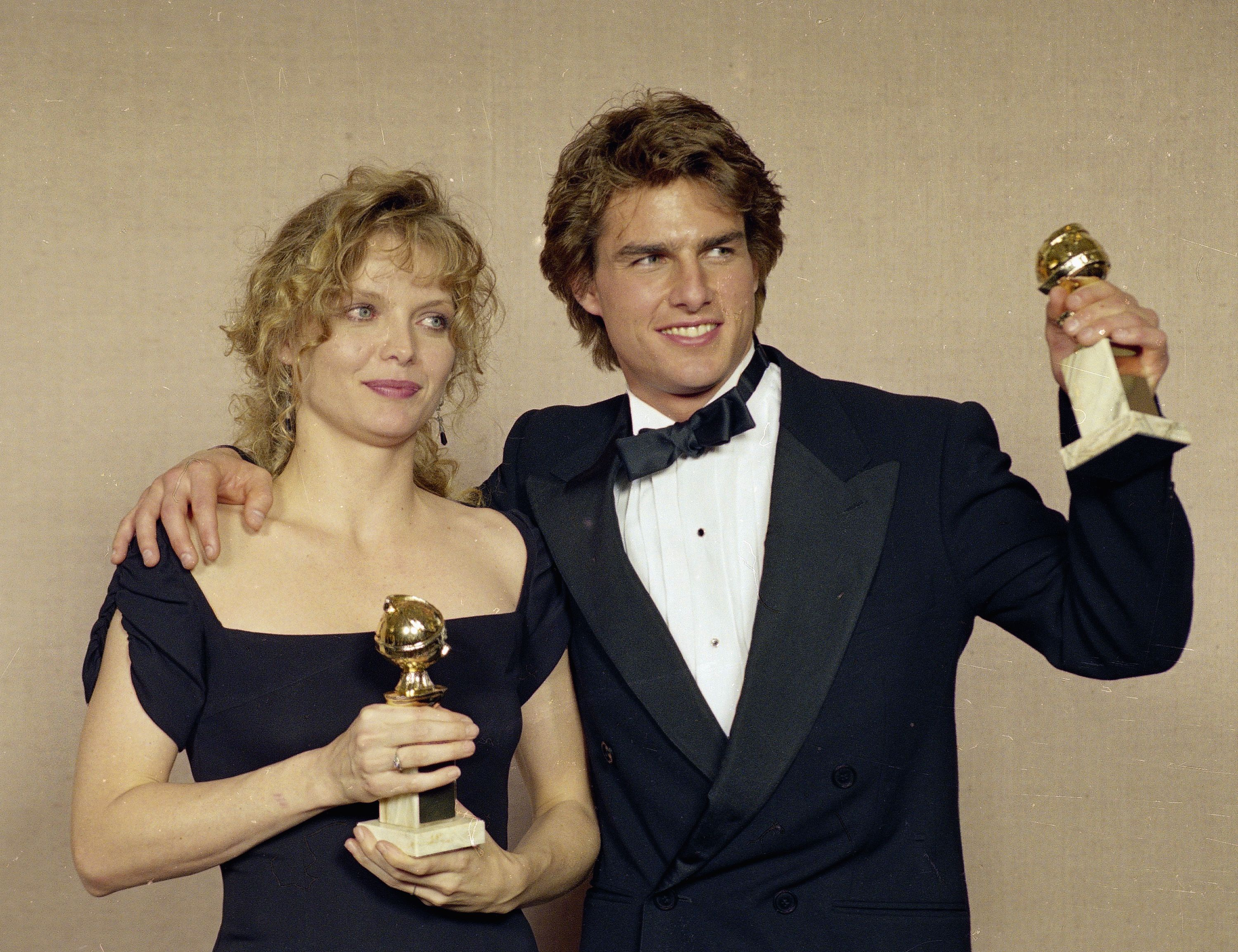 Photo finish: Golden Globe memories | Tom cruise, Golden globe winners,  Michelle pfeiffer
