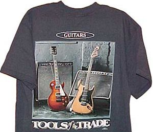 guitar t shirts guitar t shirt tools of the trade guitar related t shirt shirts mens tops. Black Bedroom Furniture Sets. Home Design Ideas