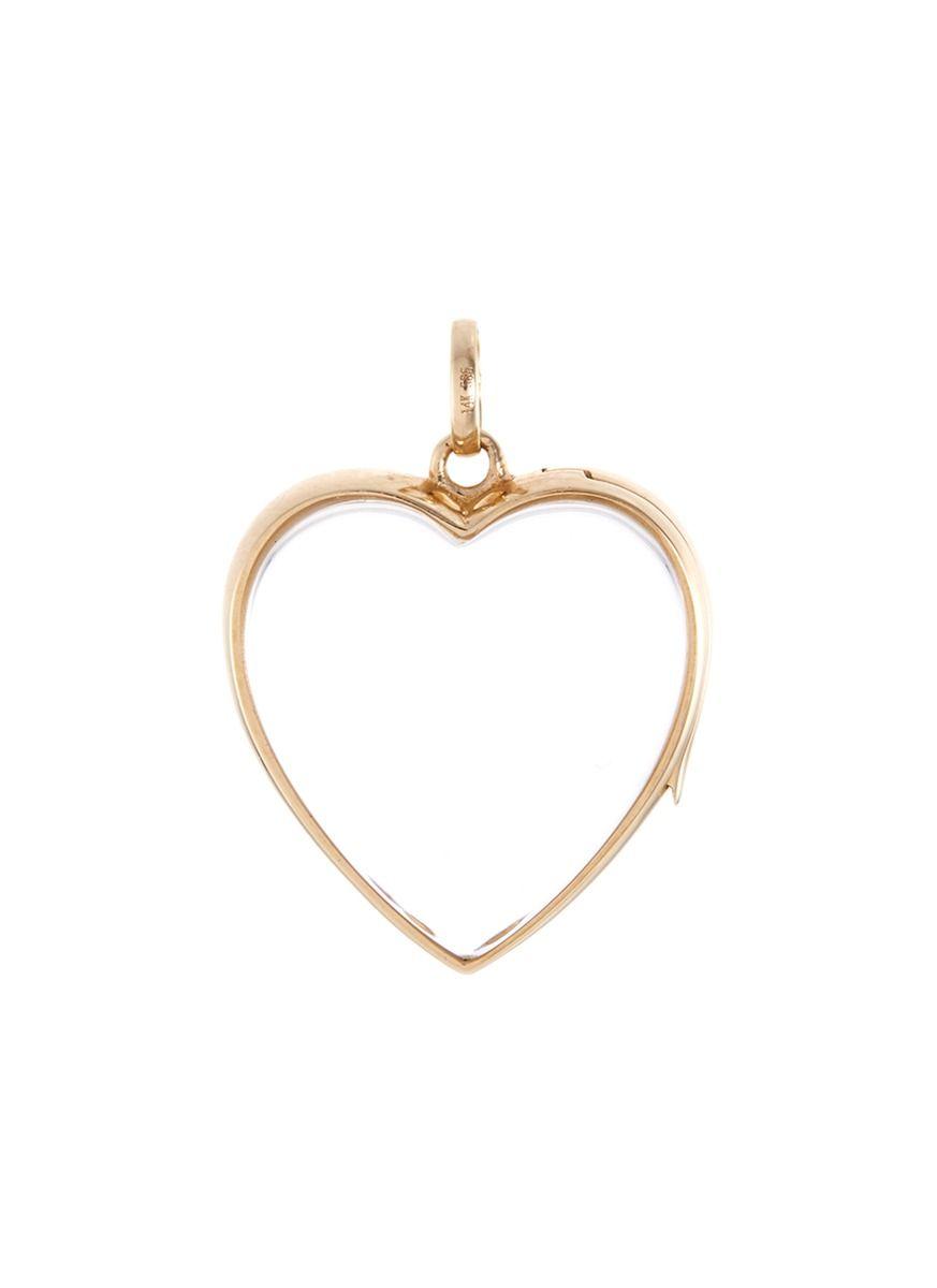 14k yellow gold shell charm bracelet Loquet London uHXHV