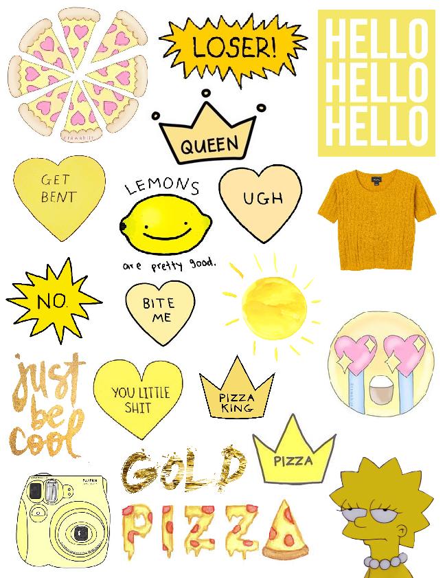 Tumblr Aesthetic Stickers Printable