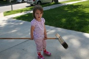 Okay, maybe not for a 1-year-old, but soon...very soon!  7 chores your toddler should be doing