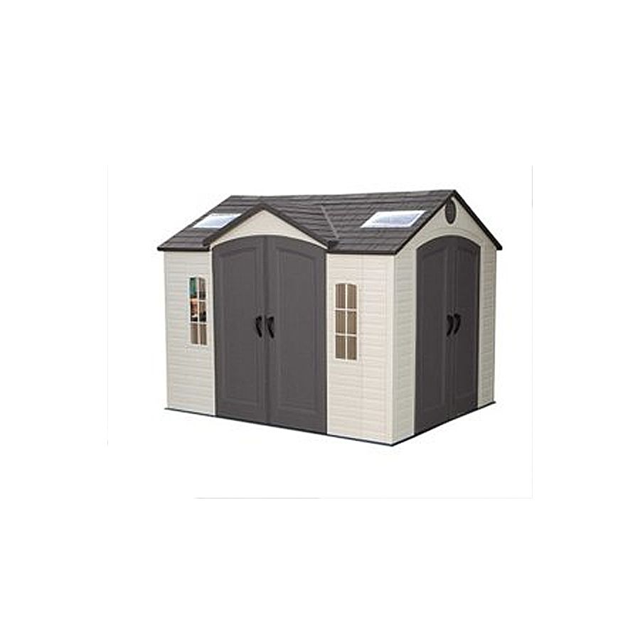 Lifetime Products 10 Ft X 8 Ft Resin Storage Shed Outdoor Storage Sheds Plastic Sheds Shed
