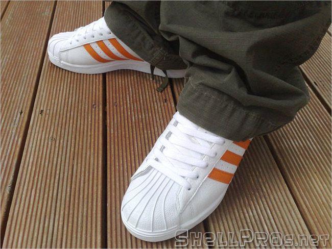 adidas superstar colours orange