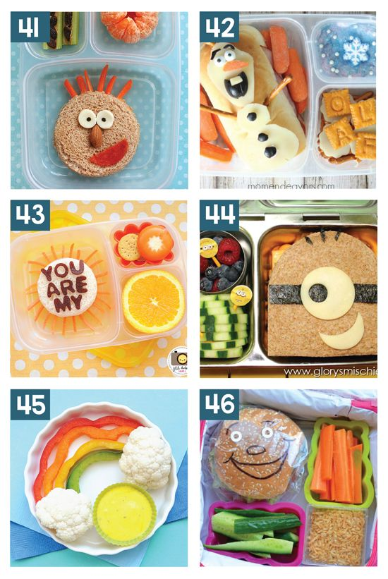 Easy And Healthy School Lunch Ideas Toddler Meals Lonches