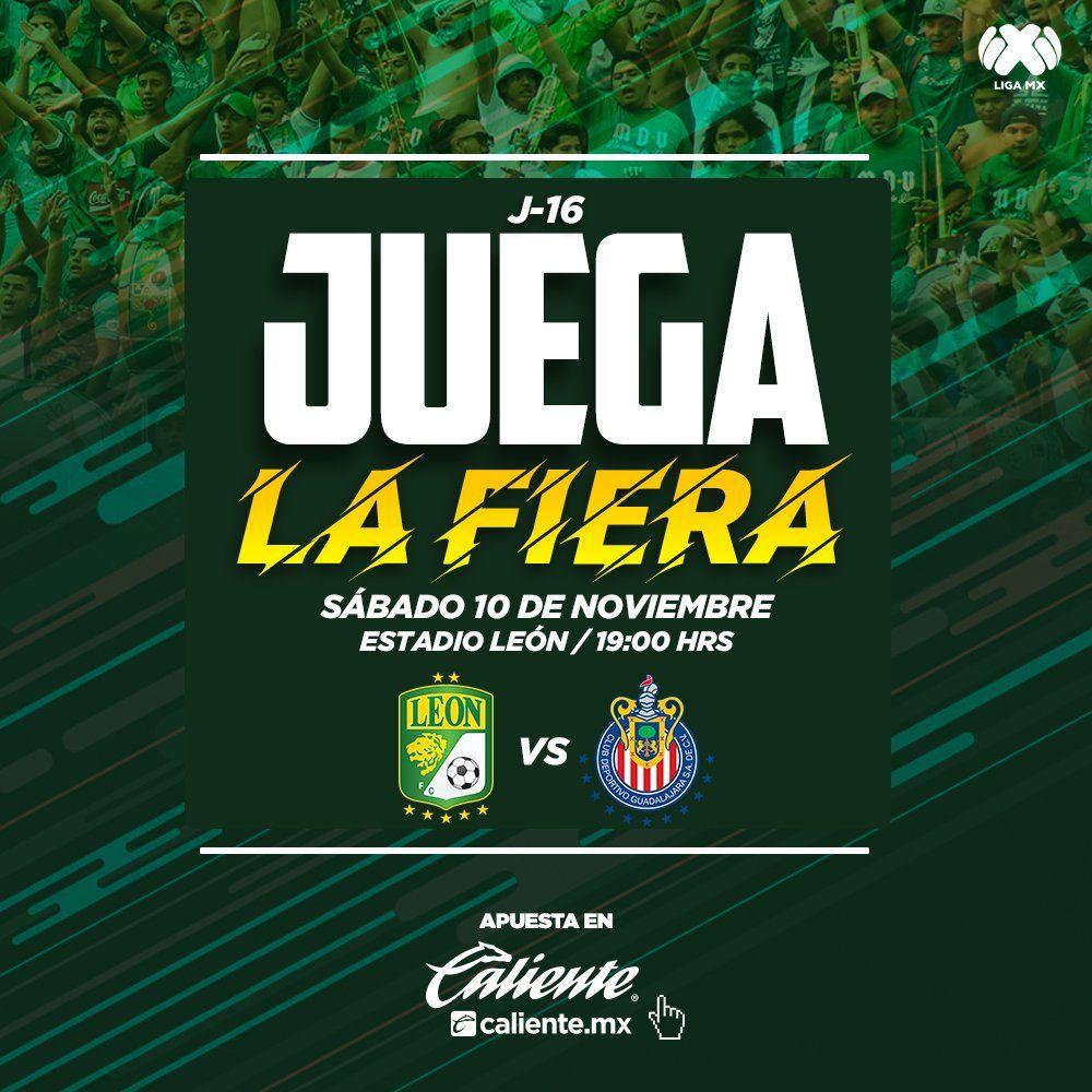 Leon vs Chivas en Vivo Fox Sports Ver los goles