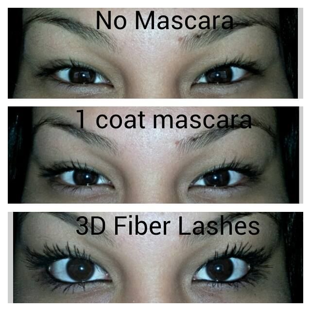 Younique's 3D Fiber Lash Mascara! Goes on just like traditional ...