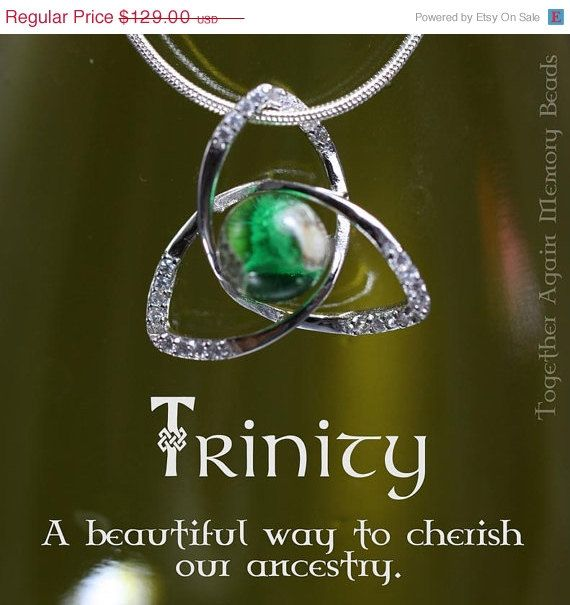 Can You Get Dna From Ashes After Cremation Sterling Trinity Pendant Cremation Glass By Togetheragainglass 139 00 Cremation Jewelry Cremation Jewelry Necklaces Cremation Glass