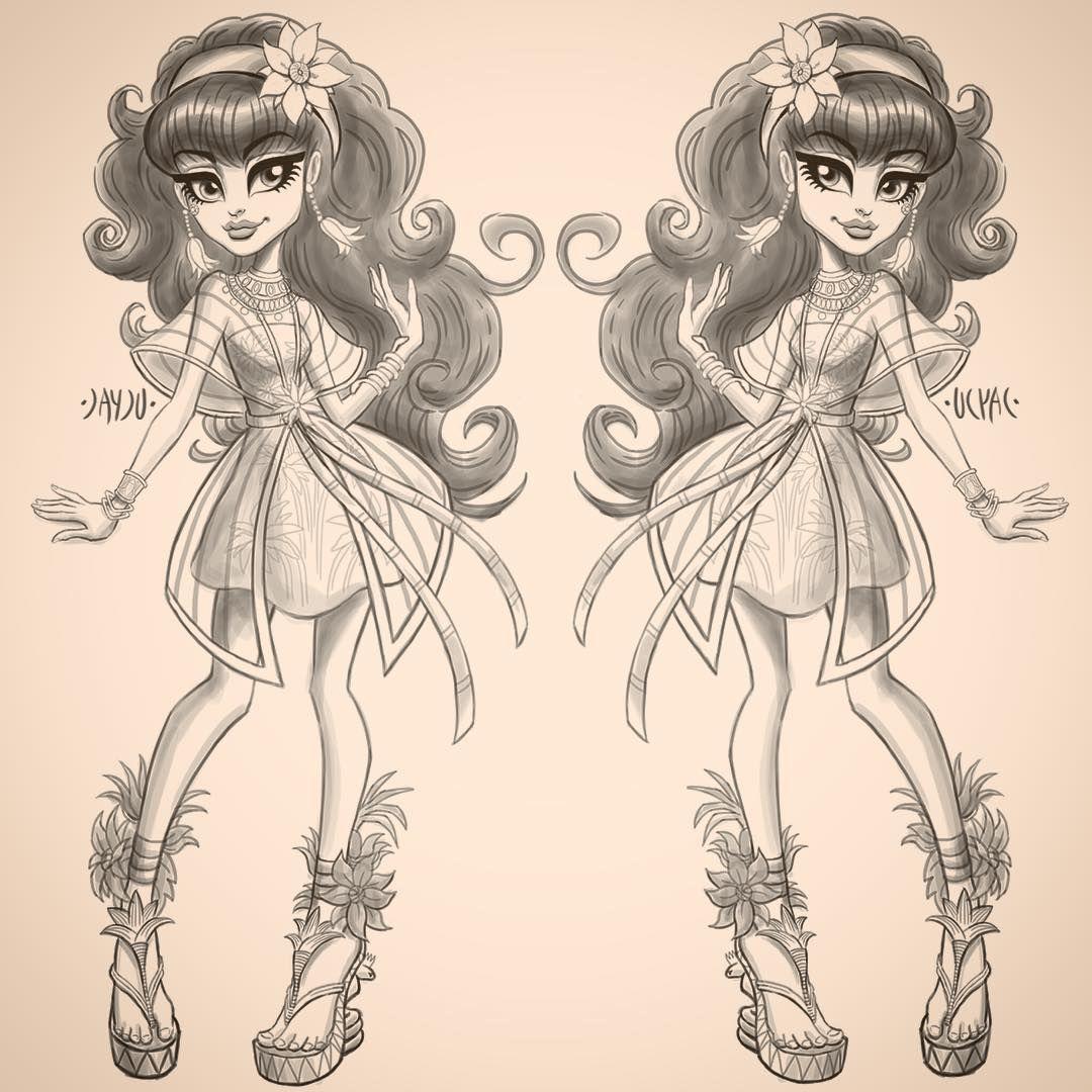Botsandbabes Monster High Art Monster High Monster High Dolls