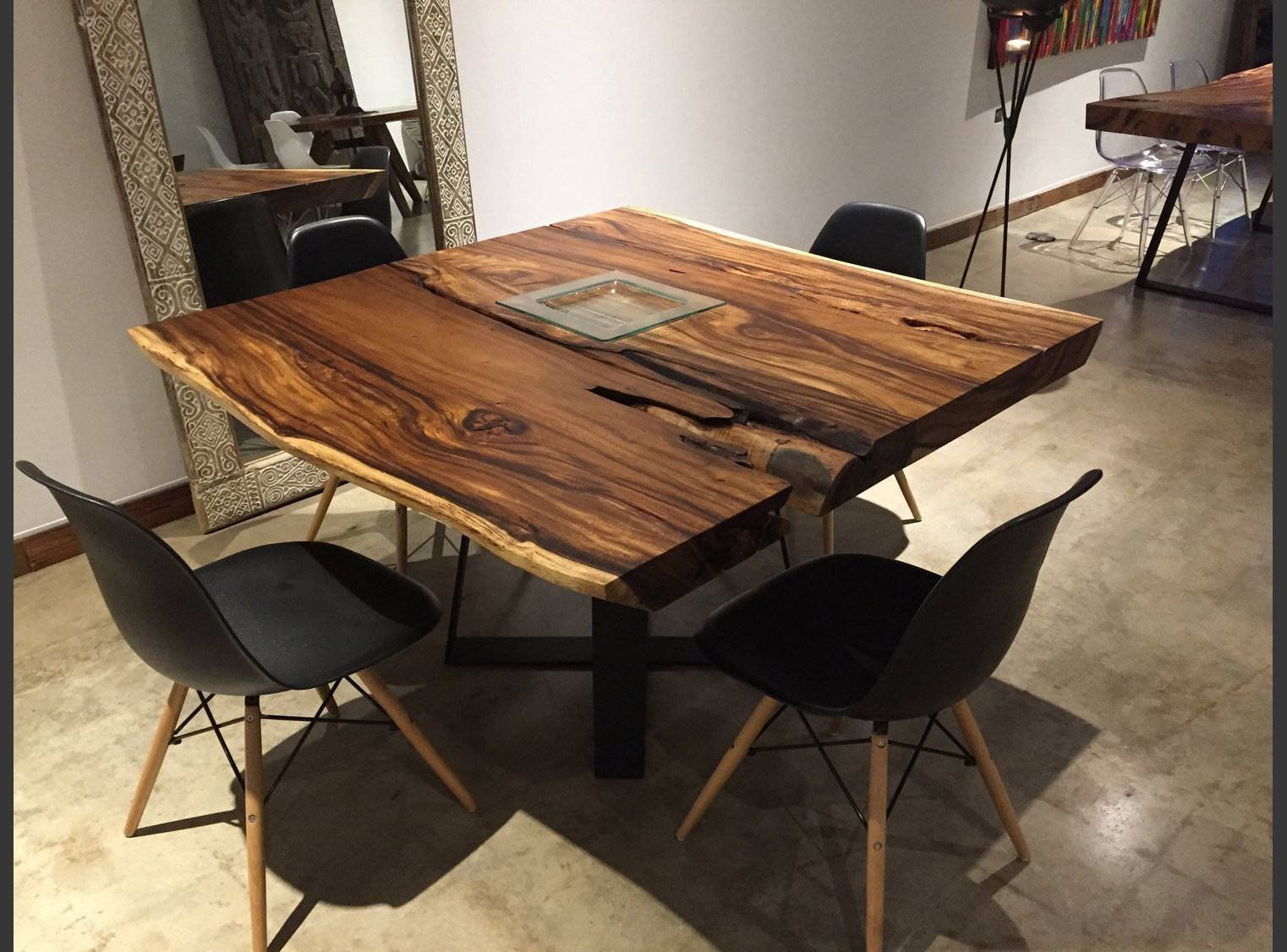 Image Result For Square Live Edge Dining Table Live Edge Dining Table Wood Dining Room Table Rustic Dining Room Table