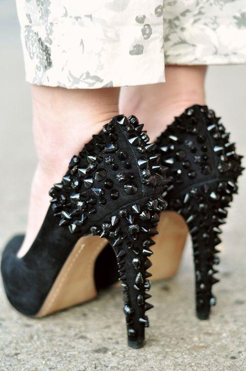 e706a1a29 OMG shoes Sam Edelman Roza spiked heels jesjesbangbang